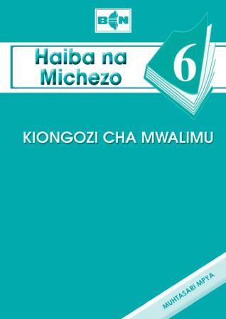 Haiba na Michezo  6 - Kiongozi cha Mwalimu