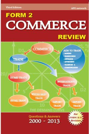 Commerce Review, Form Two