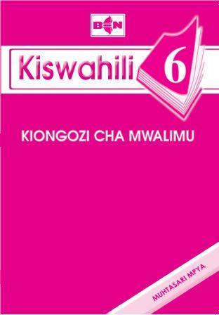 Kiswahili 6 - Kiongozi cha Mwalimu