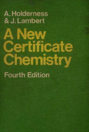 New Certificate Chemistry