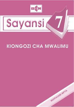 Sayansi Darasa la Saba  - Kiongozi cha Mwalimu